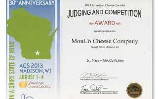 2013 Mouco Ashley First Place