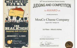 2012 Mouco Ashley First Place